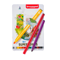 Viltstiften Bruynzeel Superpoint (3001-serie), sets