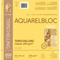 Aquarelbloks Terschelling