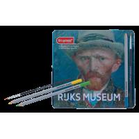 Kleurpotloden: aquarel Bruynzeel Rijksmuseum, set
