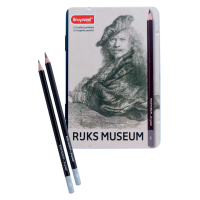 Tekenpotloden: Bruynzeel Rijksmuseum grafiet, set