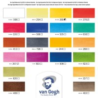 Van Gogh Aquarelverf Talens 10 ml Sets