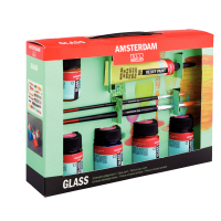Amsterdam Deco Glass  Set (Decorfin Glass Talens)