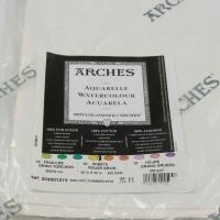 Aquarelpapier Arches Canson. Leverbaar zolang de voorraad strekt!