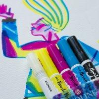 Ecoline vloeibare waterverf Talens Brush pen, set