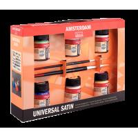 Amsterdam Deco Universal Satin Set (Decorfin Universal Satin Talens)